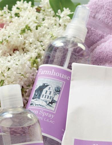 WHITE LILAC LINEN SPRAY