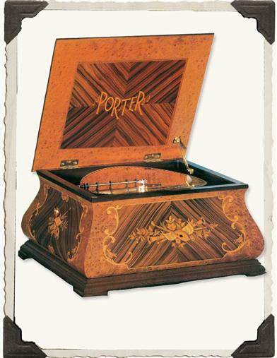 PORTER BAROQUE MUSIC BOX