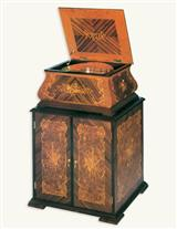 INLAY DISC CABINET (for Victorian Music Box)