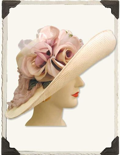 LOUISE GREEN ADRIENNE HAT