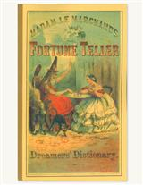 FORTUNE TELLER & DREAMER'S DICTIONARY BOOK