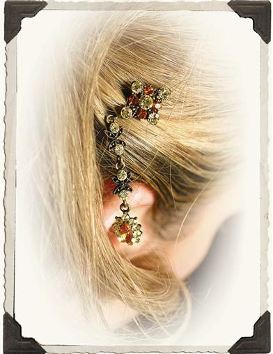 AUTUMN WOODS HAIR DANGLE