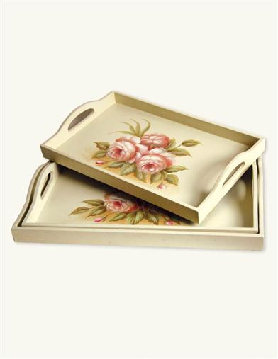 HANDPAINTED TRAYS