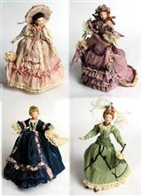 LITTLE WOMEN  DOLLHOUSE DOLLS