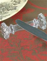 CRYSTAL KNIFE RESTS (SET OF 4)