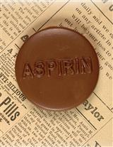 CHOCOLATE ASPIRIN (SET OF 3)