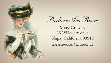 Personalized Calling Cards Victorian Trading Co