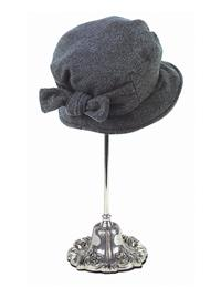 Jane Eyre Hat (Charcoal)