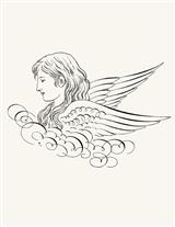 ANGELIC RUBBER STAMP