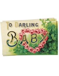 Darling Baby (Pkg Of 12 Enclosures)