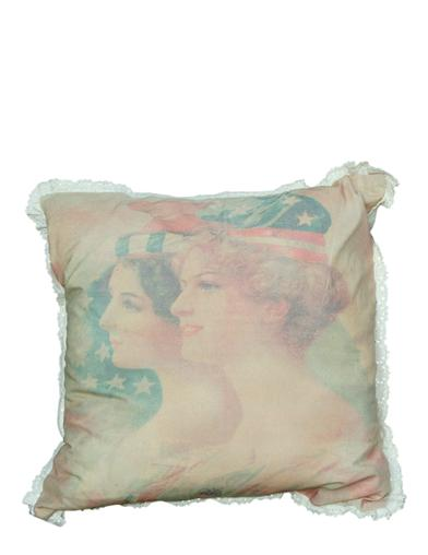 Liberty & Justice Porch Pillow Cover