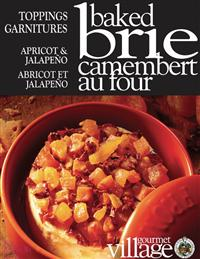 APRICOT AND JALAPENO BRIE BAKER TOPPING