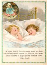 CHILDREN DREAMING (PKG OF 10 HOLIDAY CARDS)