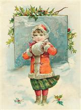 OLD FASHIONED JOYS (PKG OF 10 HOLIDAY CARDS)