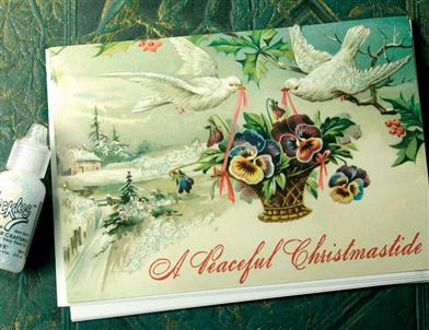 Artisan Card / Peaceful Christmastide / 5 Ct Order