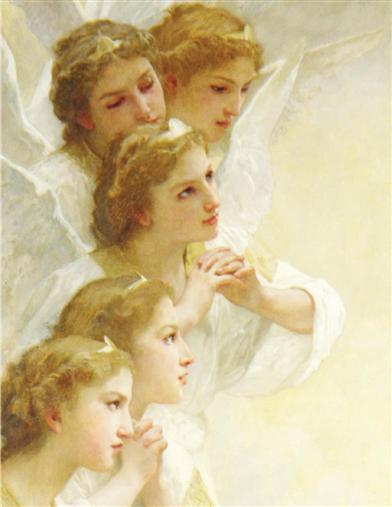 Angels Attend Thee (Pkg Of 10 Holiday Cards)
