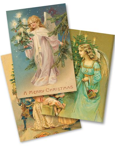 Charming Angels Holiday Cards (Pkg Of 15)