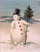 SNOWMAN (PKG OF 10 HOLIDAY CARDS)