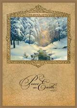 PEACE ON EARTH (PKG OF 10 HOLIDAY CARDS)
