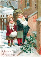 TIDINGS OF LOVE (PKG OF 10 HOLIDAY CARDS)