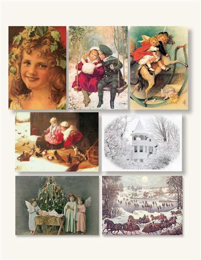 HOLIDAY GIFT ENCLOSURE CARDS (ASST OF 10)