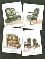 ANTIQUE CHAIRS (PKG OF 8 NOTECARDS)