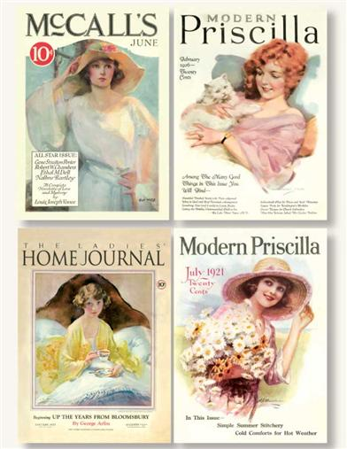 MAGAZINE COVERS (PKG OF 8 NOTECARDS)
