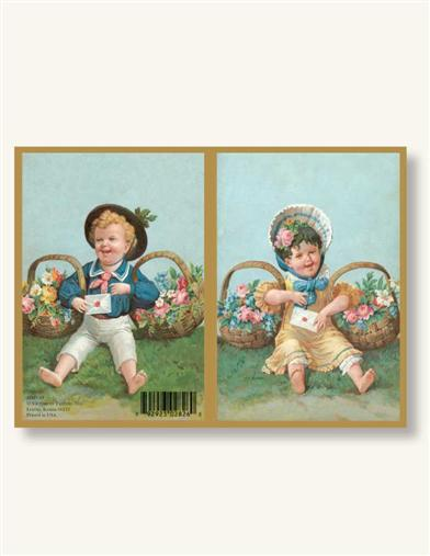 EASTER BASKET (PKG OF 8 NOTECARDS)