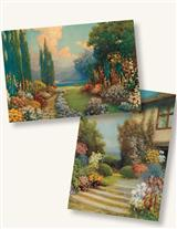 NOSTALGIC GARDENS (PKG OF 8 NOTECARDS)