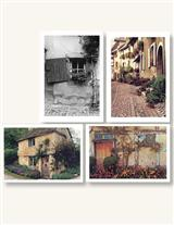 COBBLESTONE STREETS (PKG OF 8 NOTECARDS)