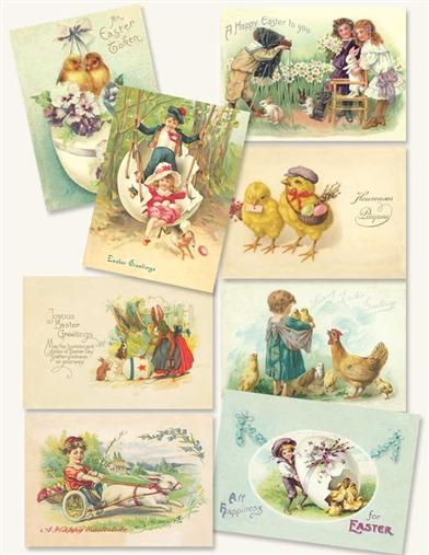 VINTAGE EASTER POSTCARD ASSORTMENT
