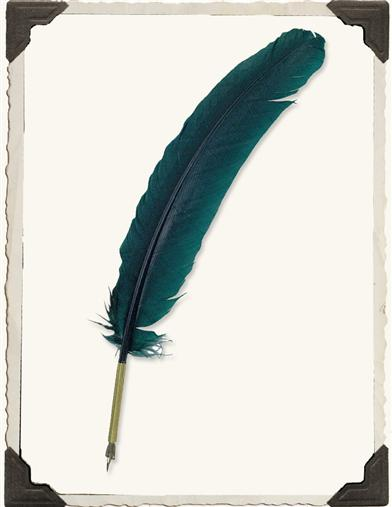 QUILL PEN (TEAL)