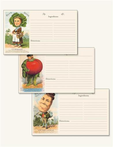 VEGGIE SOCIETY RECIPE CARDS (12 PACK)
