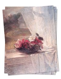 Flowers In Window (Pkg Of 6 Sympathy Cards)