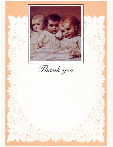 Babies (Pkg Of 8 Thank You Cards)